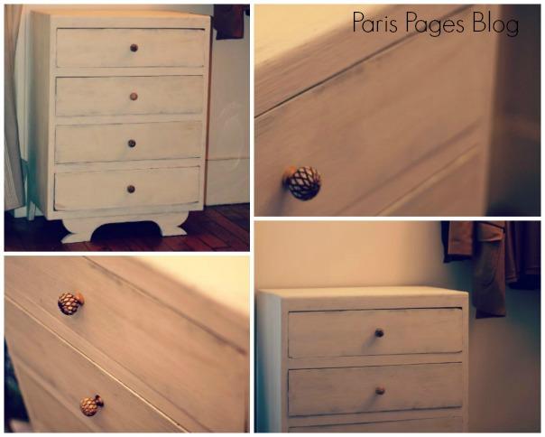 Retaper la future commode de b b paris pages blog for Retaper un meuble